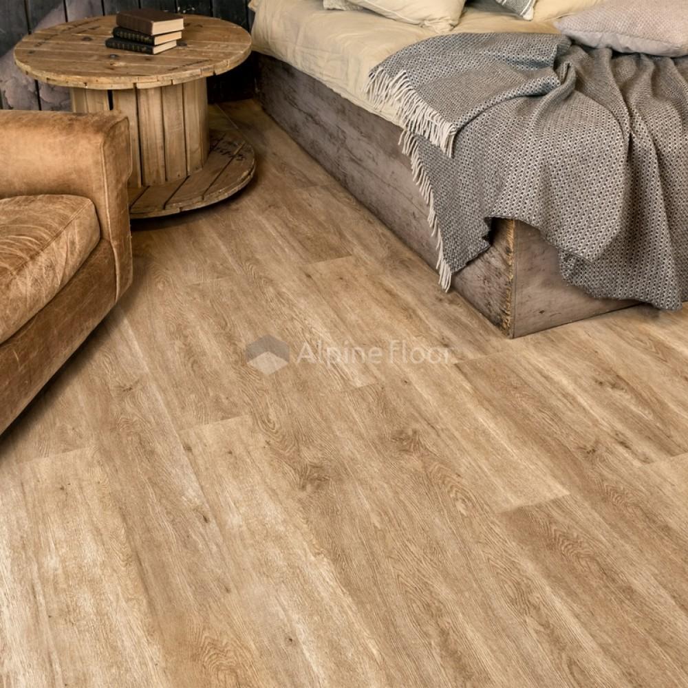 Кварцвиниловая плитка Alpine Floor Grand Sequoia ECO 11-6 Гранд Секвойя Миндаль