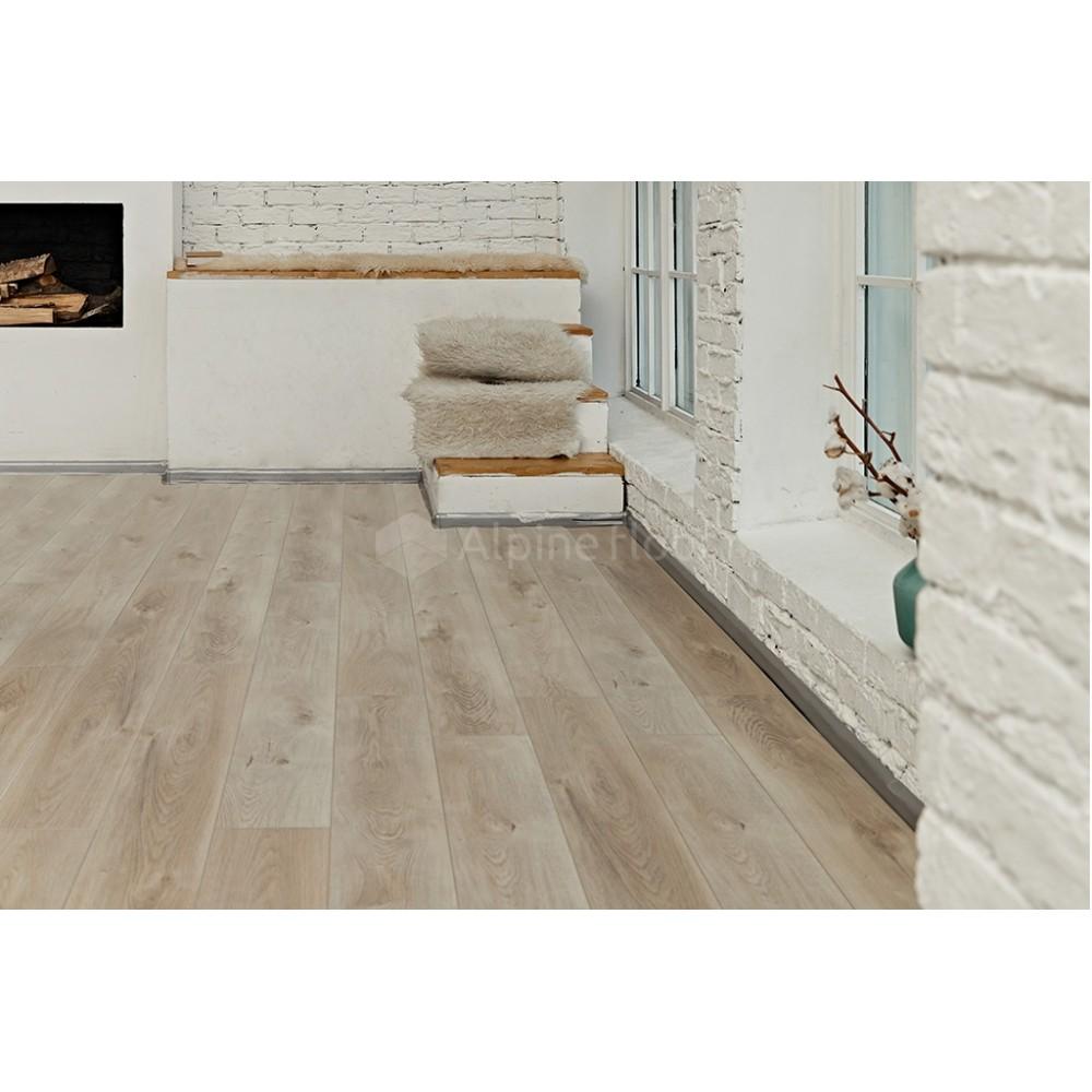 Кварцвиниловая плитка Alpine Floor Premium XL ECO 7-5 Дуб Натуральный Отбеленный
