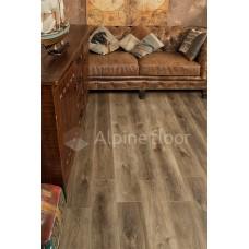 Кварцвиниловая плитка Alpine Floor Premium XL ECO 7-9 Дуб Коричневый