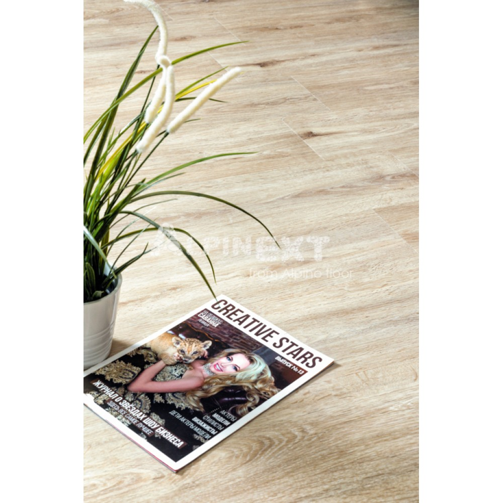 Кварцвиниловая плитка Alpine Floor Ultra ЕСО 5-4 Дуб Ваниль